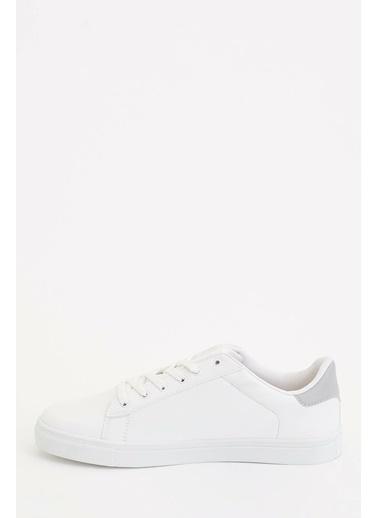 DeFacto Bağcıklı Spor Ayakkabı Beyaz